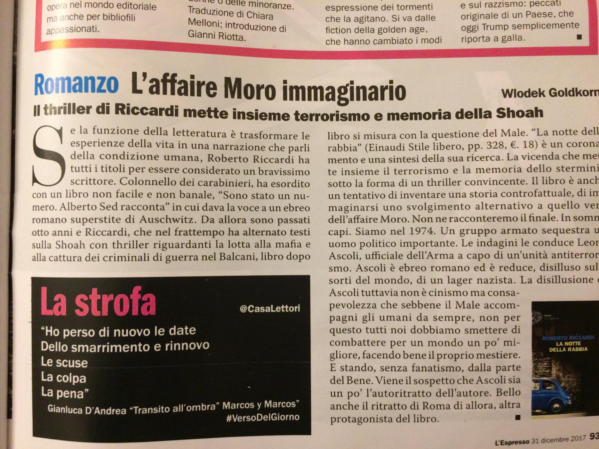 L'Espresso - La strofa