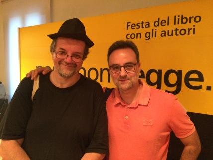 Con Andrea Cortellessa (21/09/2018 - Pordenone)