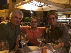 Con Fabio Pusterla e Italo Testa (21 settembre 2018 - Pordenone)