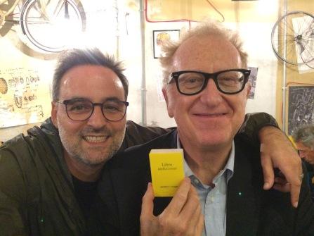 Con Valerio Magrelli (22 settembre 2018 - Pordenone)