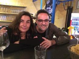 Con Laura Pugno (22 settembre 2018 - Pordenone)
